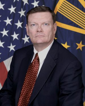 Terry Halvorsen was formerly with the U.S. Department of Defense.