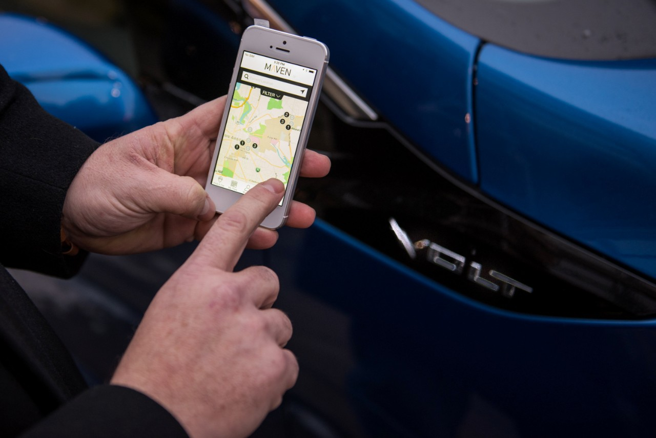 General Motors' Car-Sharing Startup Maven Coming To Canada With Toronto Launch