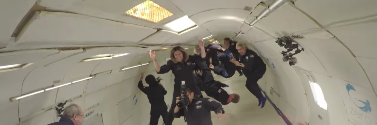 Zero-gravity flight feature
