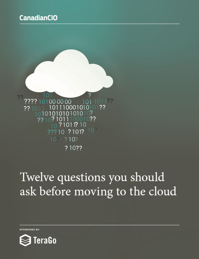 Twelve questions you should ask before moving to the cloud
