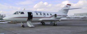 NRC Falcon 20 zero-gravity research aircraft