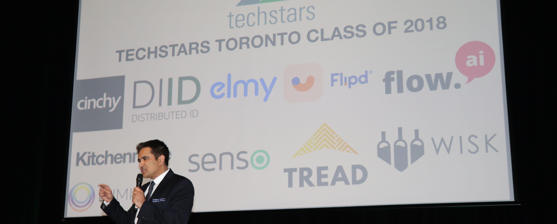 Techstars Toronto Managing Director Sunil Sharma