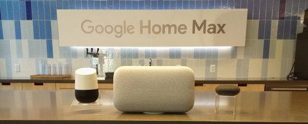 Google Home Max launch feature