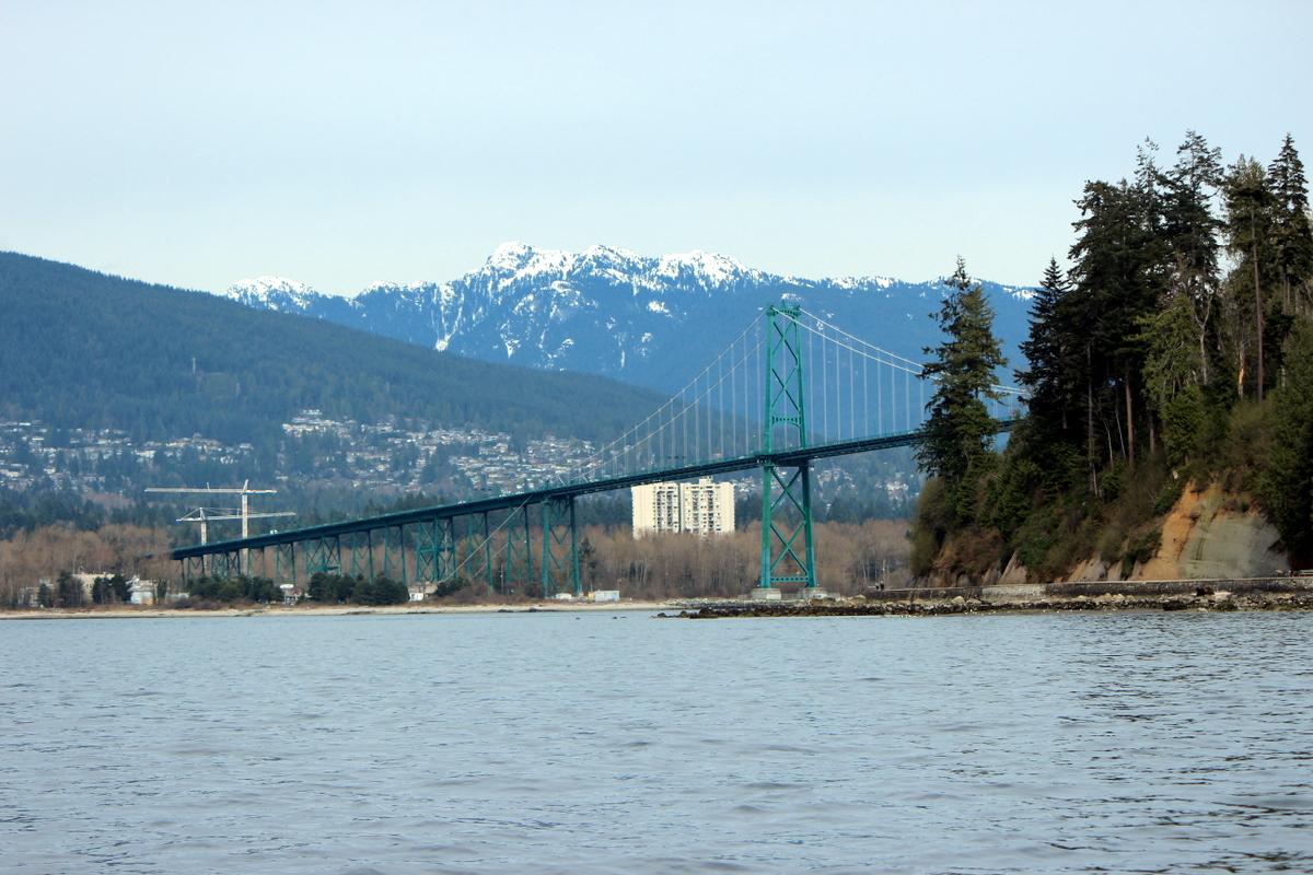 Lion's Gate Bridge, Vancouver