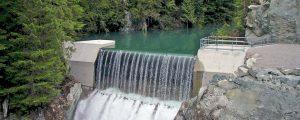 Upper Mamquam hydro facility in BC