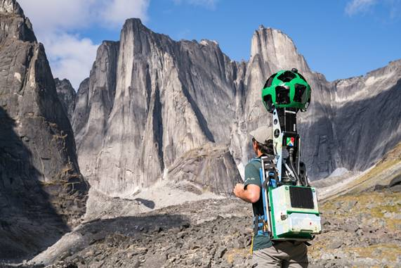 Jeff Bollingbroke - Parks Canada and Google Street View collaboration