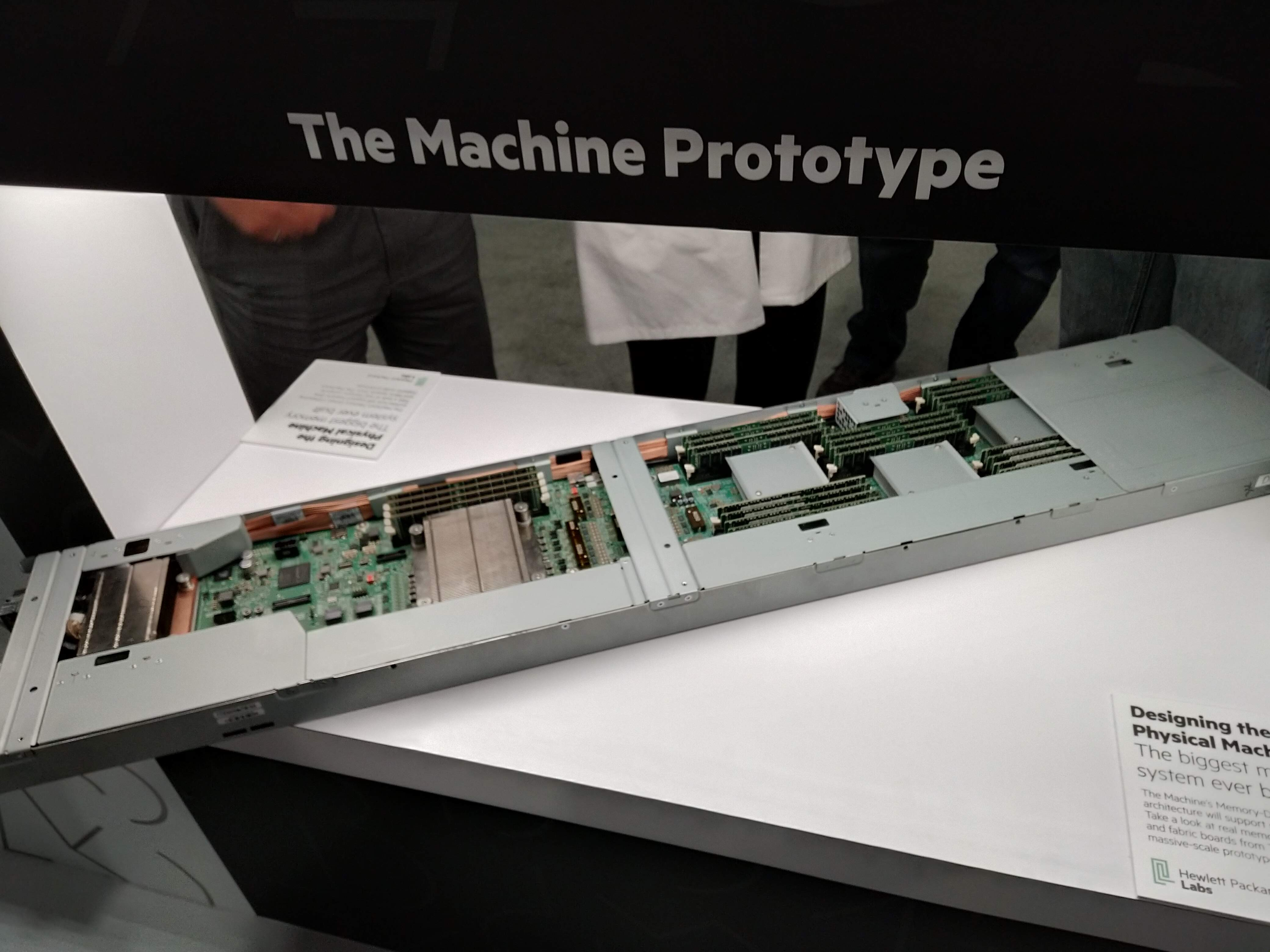 HPE The Machine Prototype