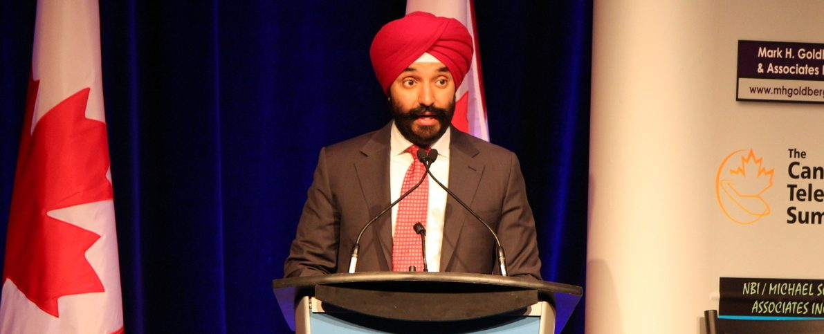 Navdeep Bains - Minister of ISED at Canadian Telecom Summit