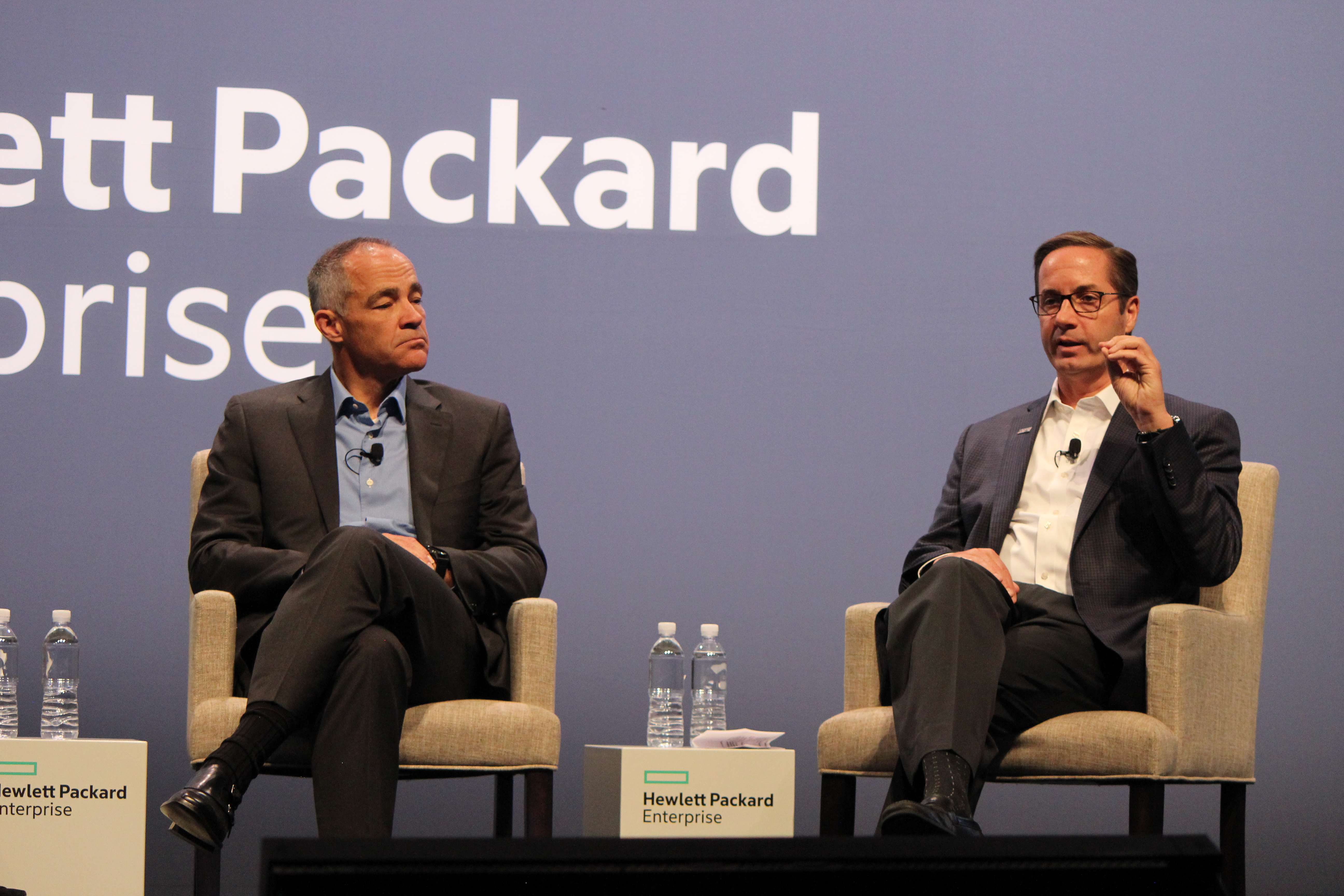 HPE Discover 2018 - Ric Lewis and John Treadway