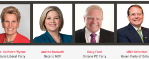 Ontario Party Leaders - 2018 Election