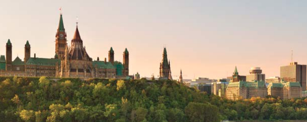 Parliament Hill - Ottawa sunset