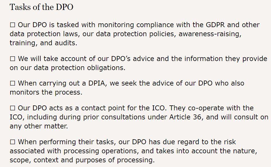 Checklist-tasks-DPO