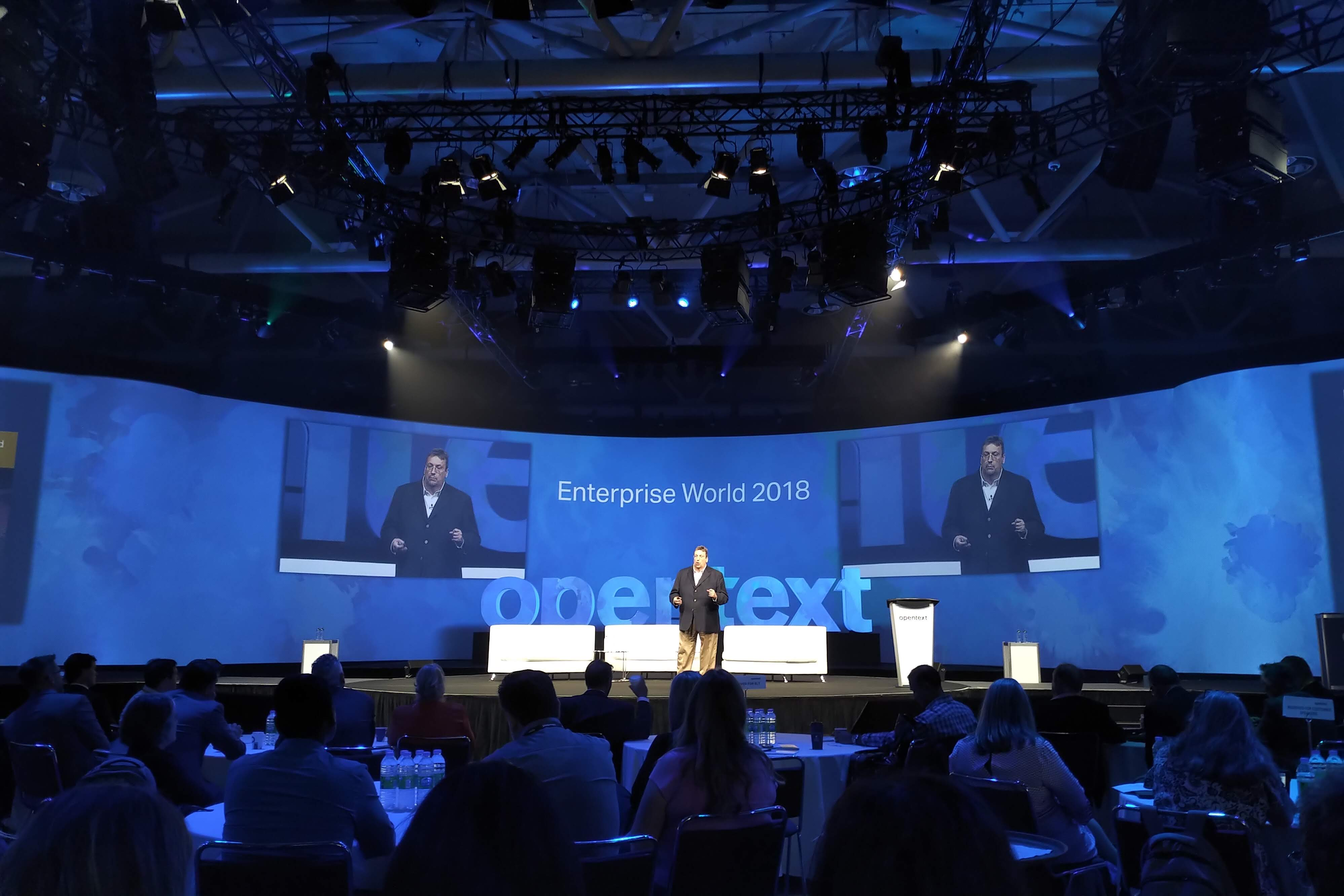 OpenText showcases cloud strategy roadmap to 2020 at