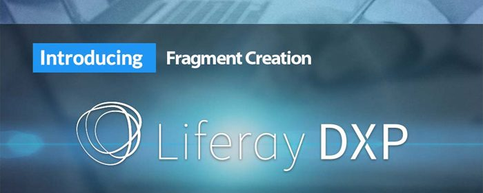 liferay-DXP-fragments