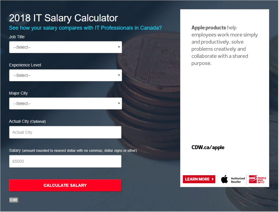 salary calculator tool