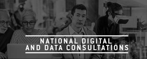 National Digital and Data Consultations banner