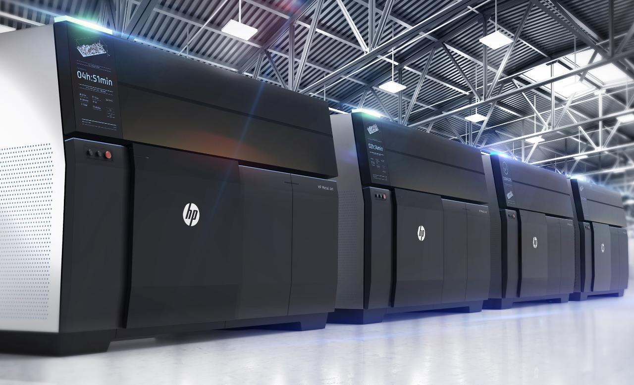 HP Metal Jet feature