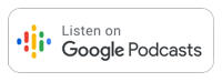 Google Podcasts badge - 200 px wide