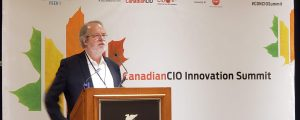 Jim Love at CanadianCIO Summit 2018