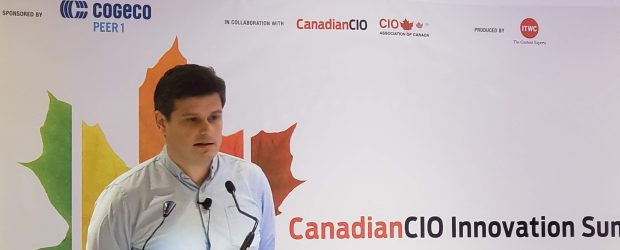 Stephen Piron, co-CEO, Dessa at CanadianCIO Summit