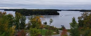 Lake Rosseau view
