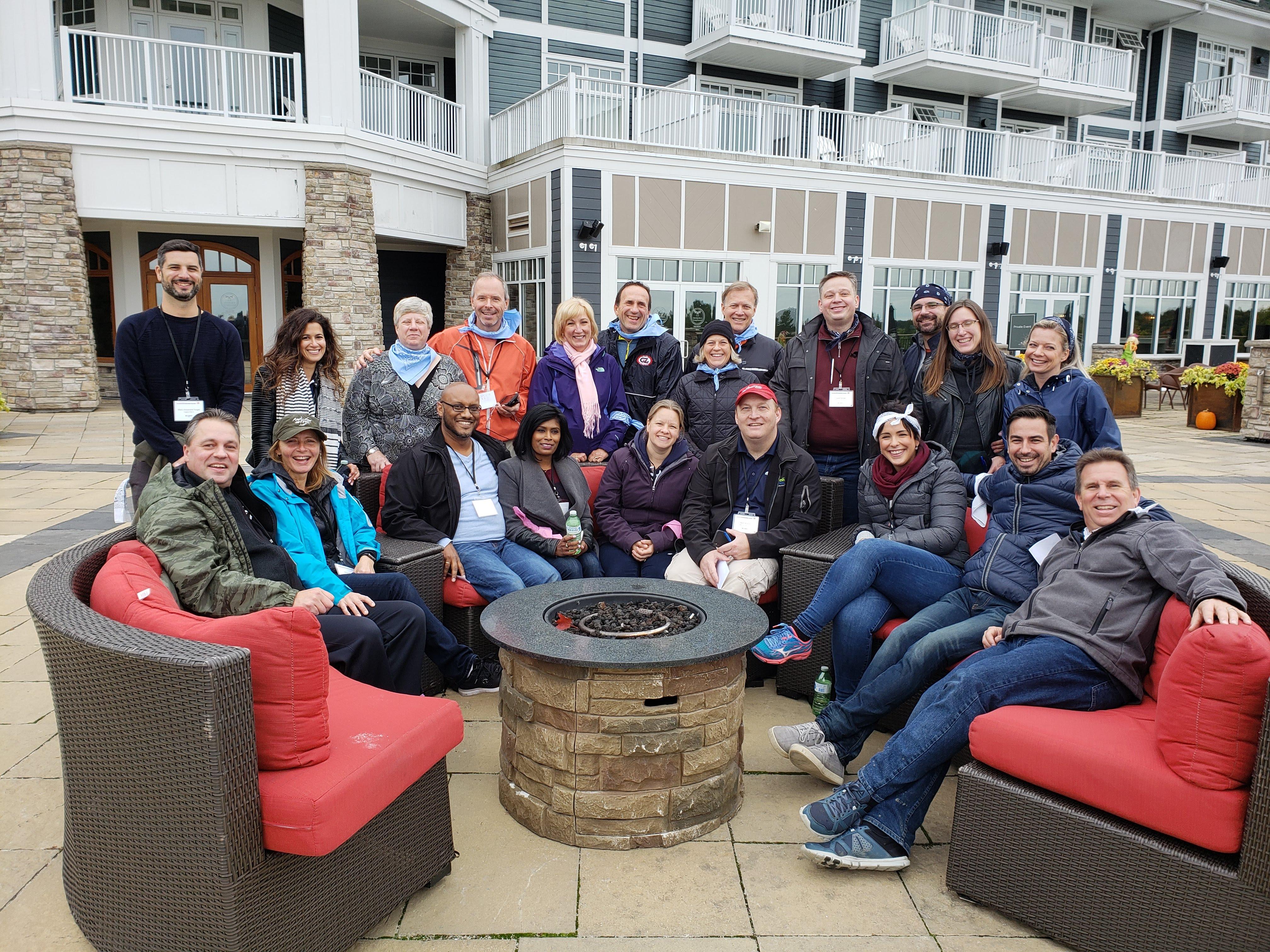 Orienteering group - CanadianCIO Summit 2018