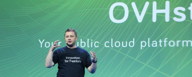 Octave Klaba - speaking at OVH Summit 2018