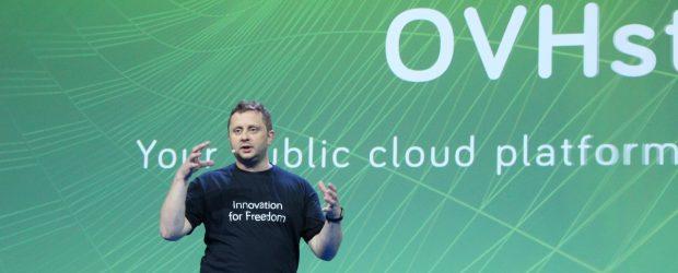Octave Klaba - speaking at OVH Summit 2018