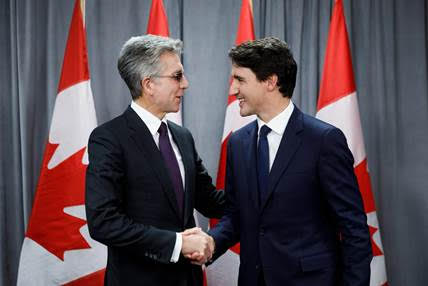 SAP Global CEO Bill McDermott met with Prime Minister Justin Trudeau Oct. 15 at the Fortune Global Forum to discuss the company's continued investment in Canada.