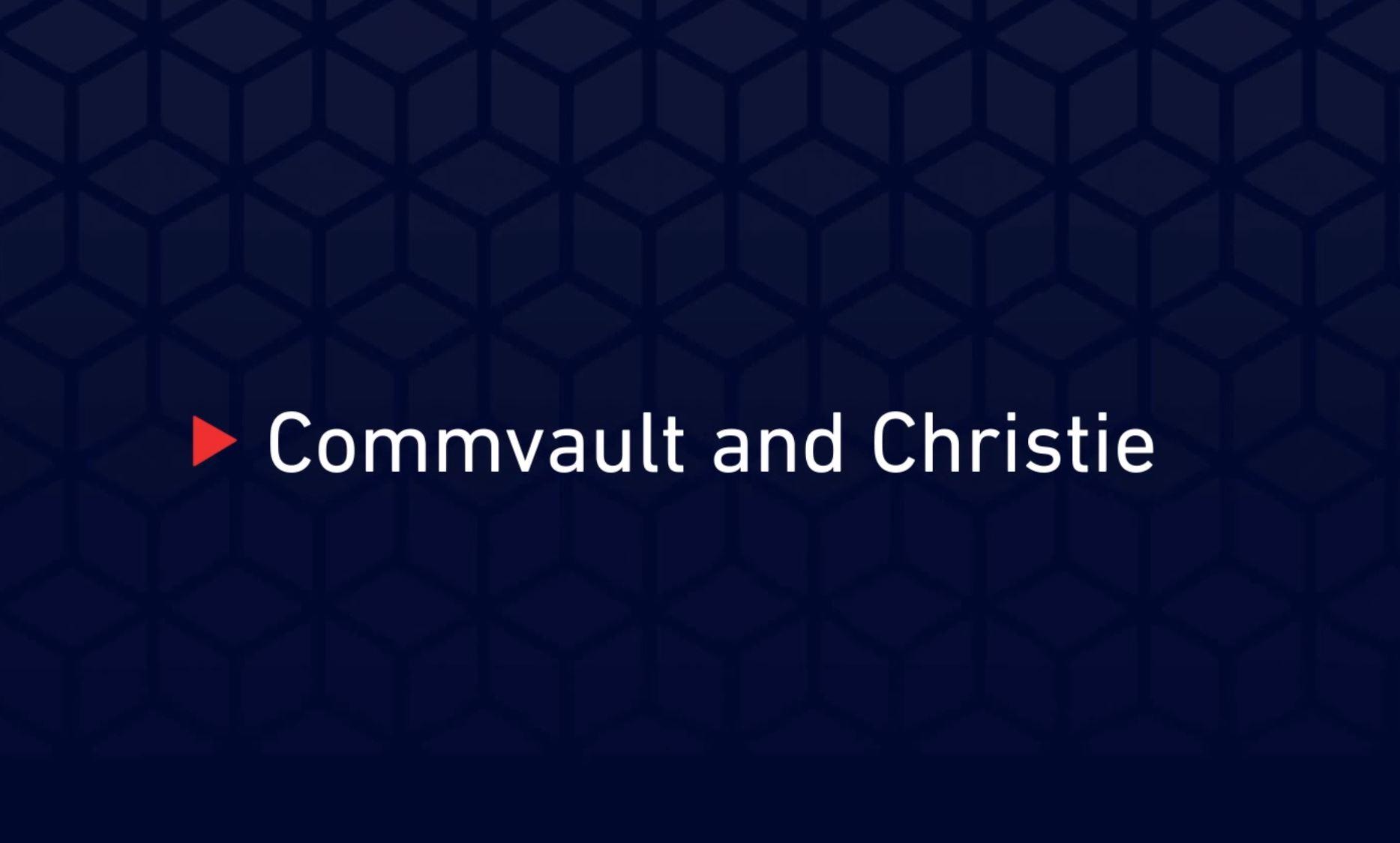 Christie Commvault