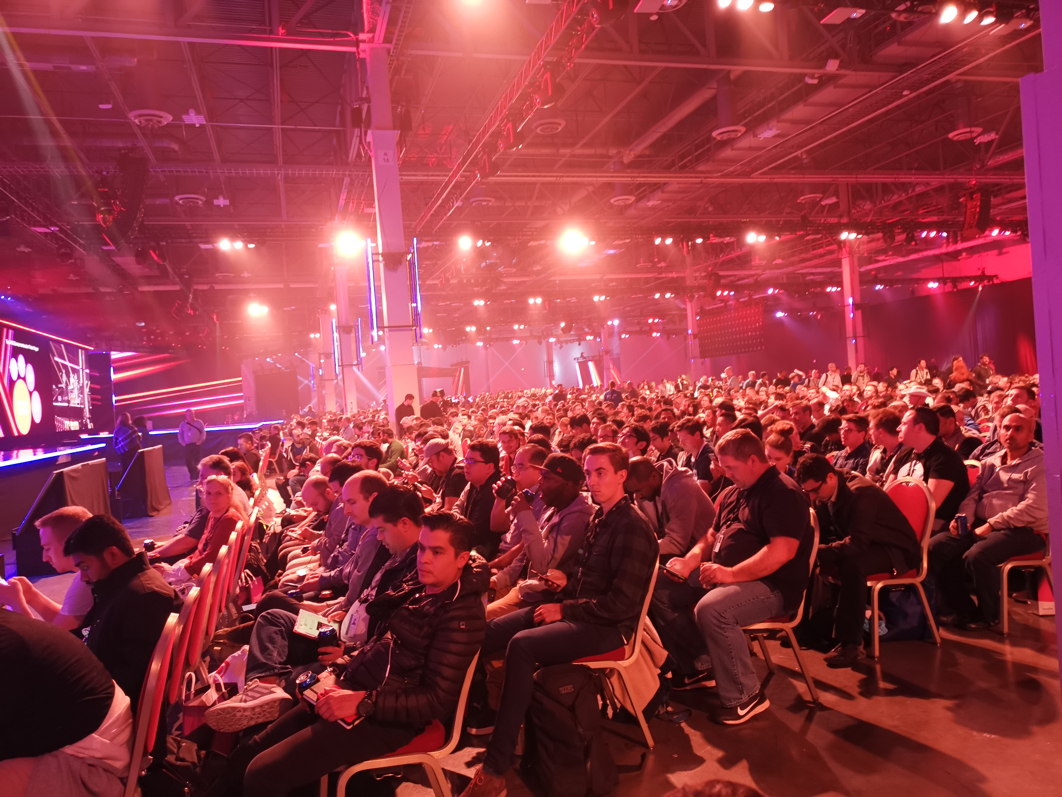 Crowd at AWS Re:Invent