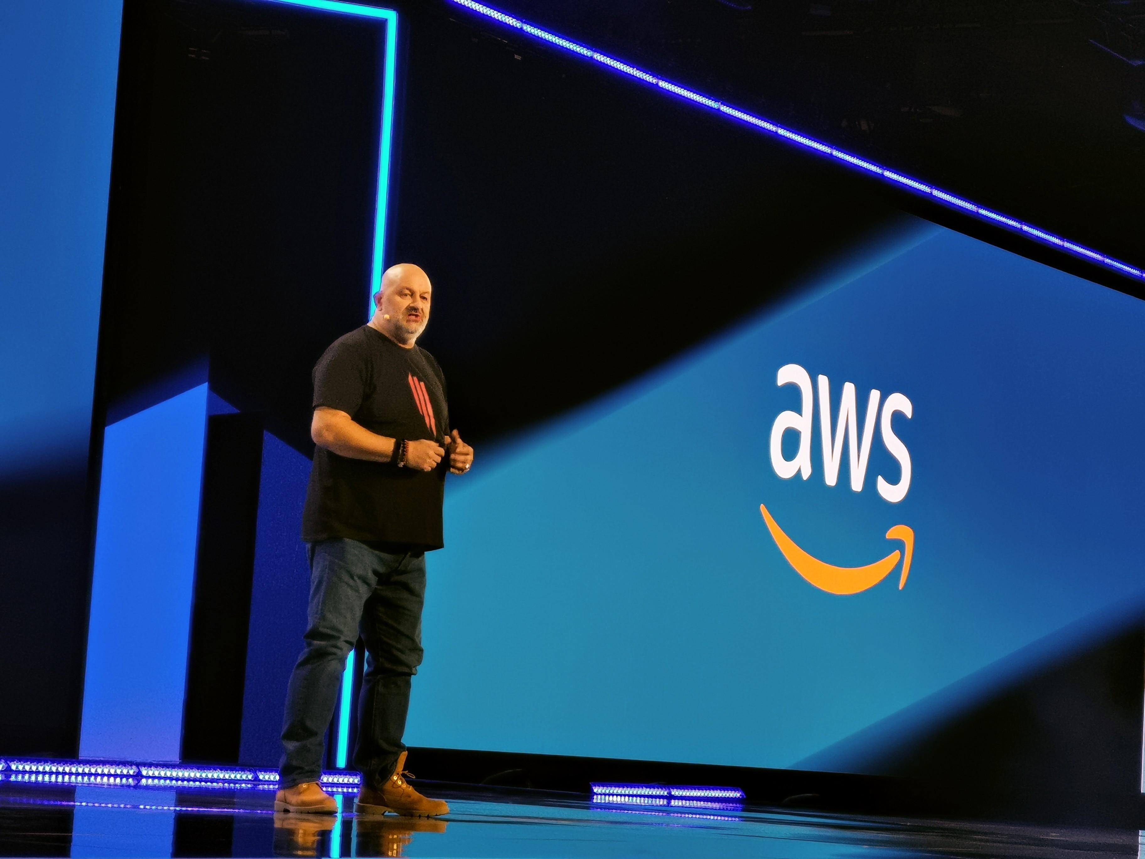 Werner Vogels at AWS Re:Invent 2018
