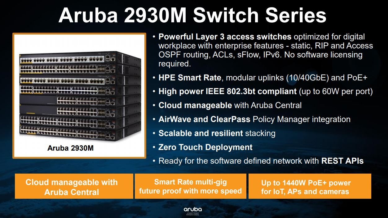 HPE Aruba announces new enterprise networking solutions and