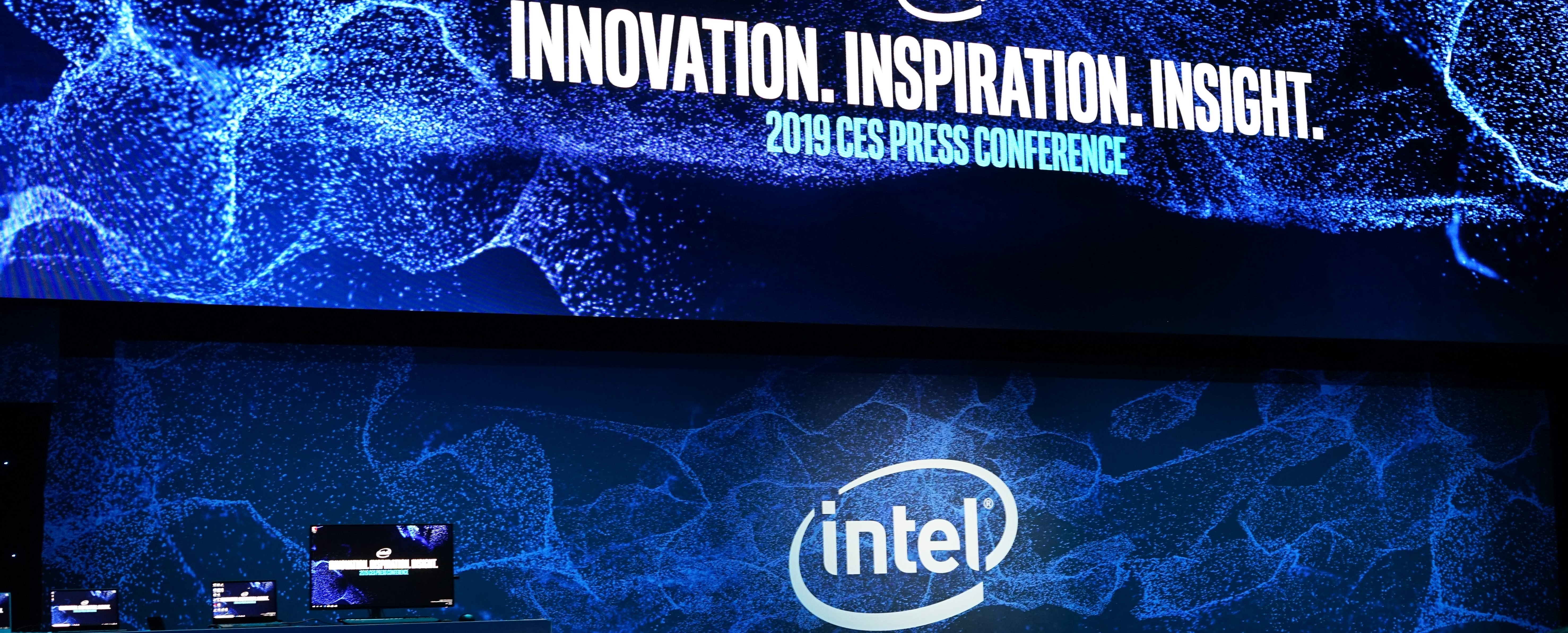 Intel CES 2019 press conference