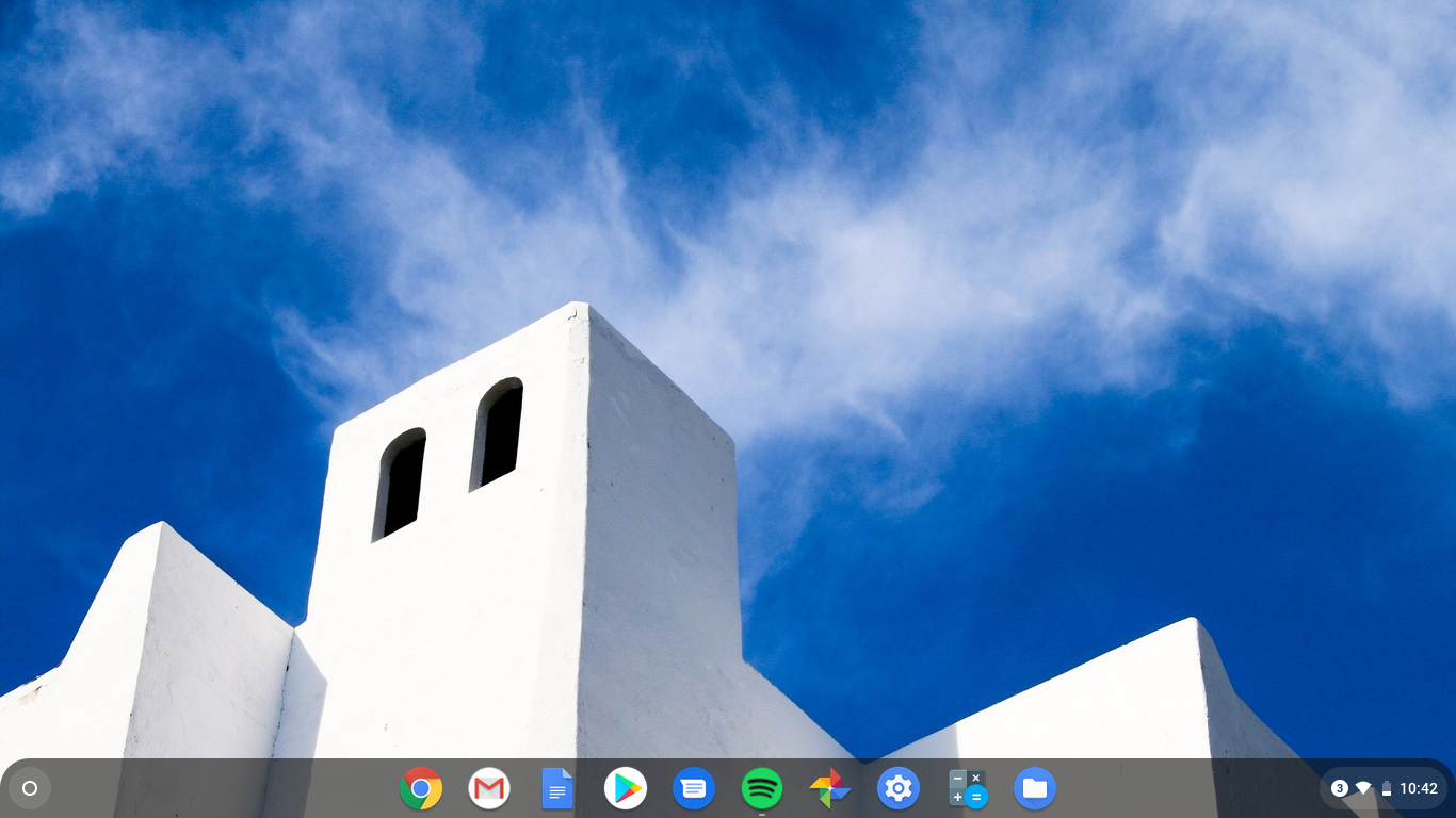 chrome os desktop