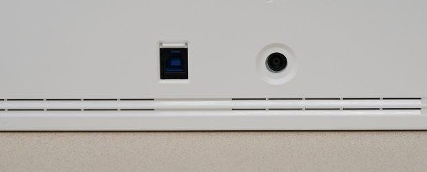Fujitsu ScanSnap iX1500 rear ports