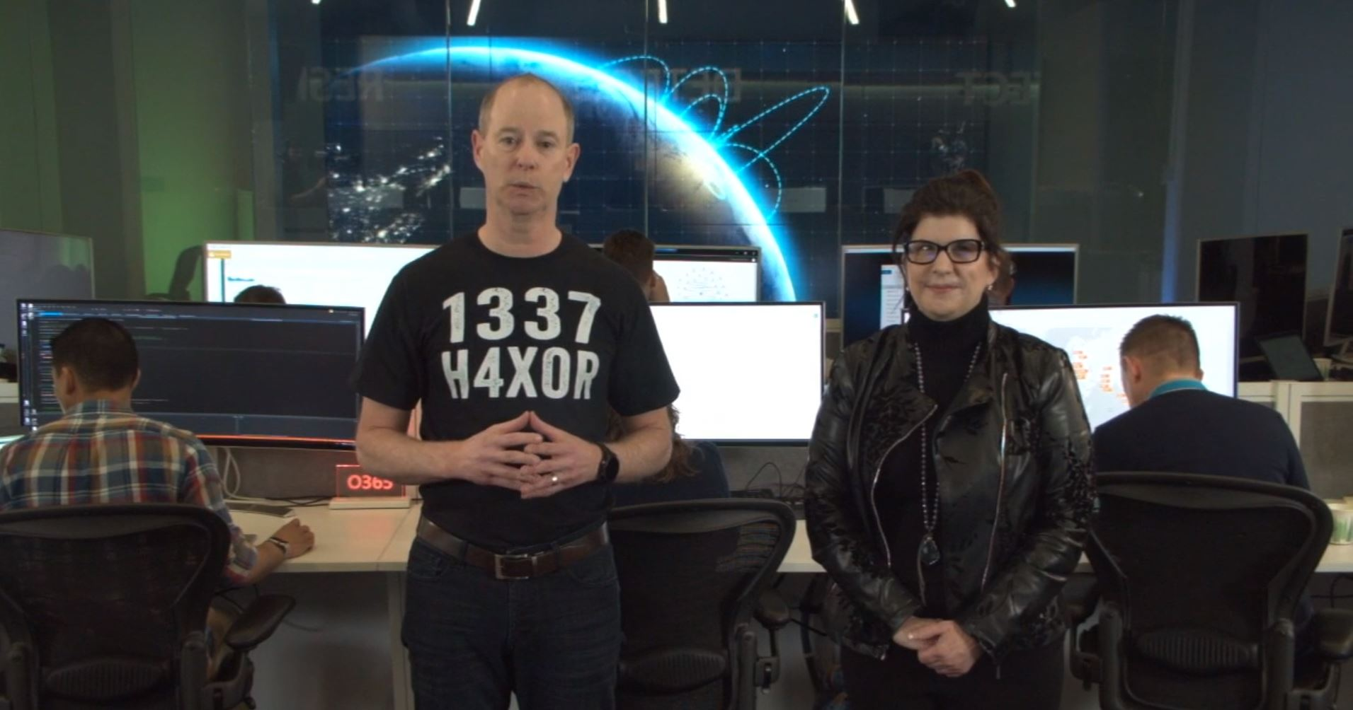Microsoft CVPs Frank X. Shaw and Ann Johnson