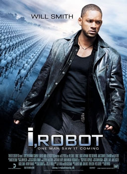 i Robot movie poster
