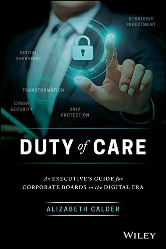 Duty of Care cover - by Alizabeth Calder