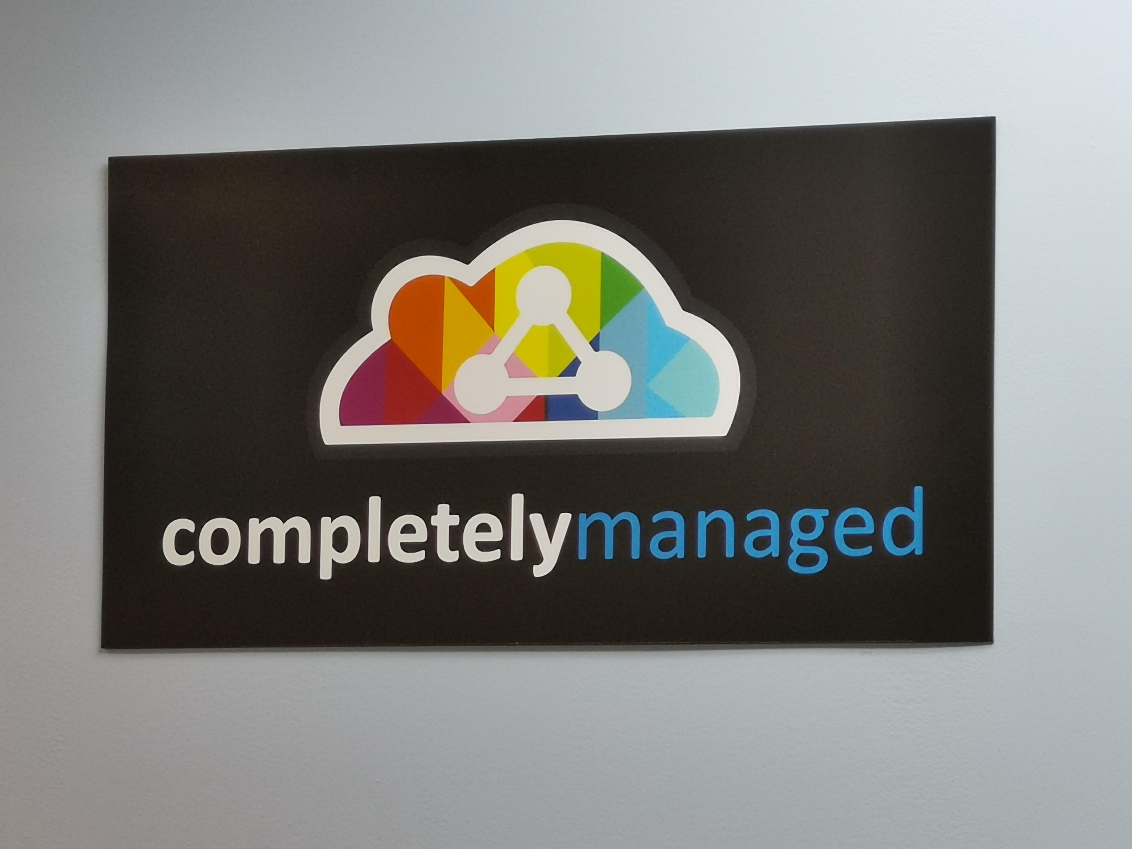 completely managed logo