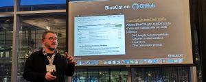 Andrew Wertkin, CTO, BlueCat - BlueCat on Github slide
