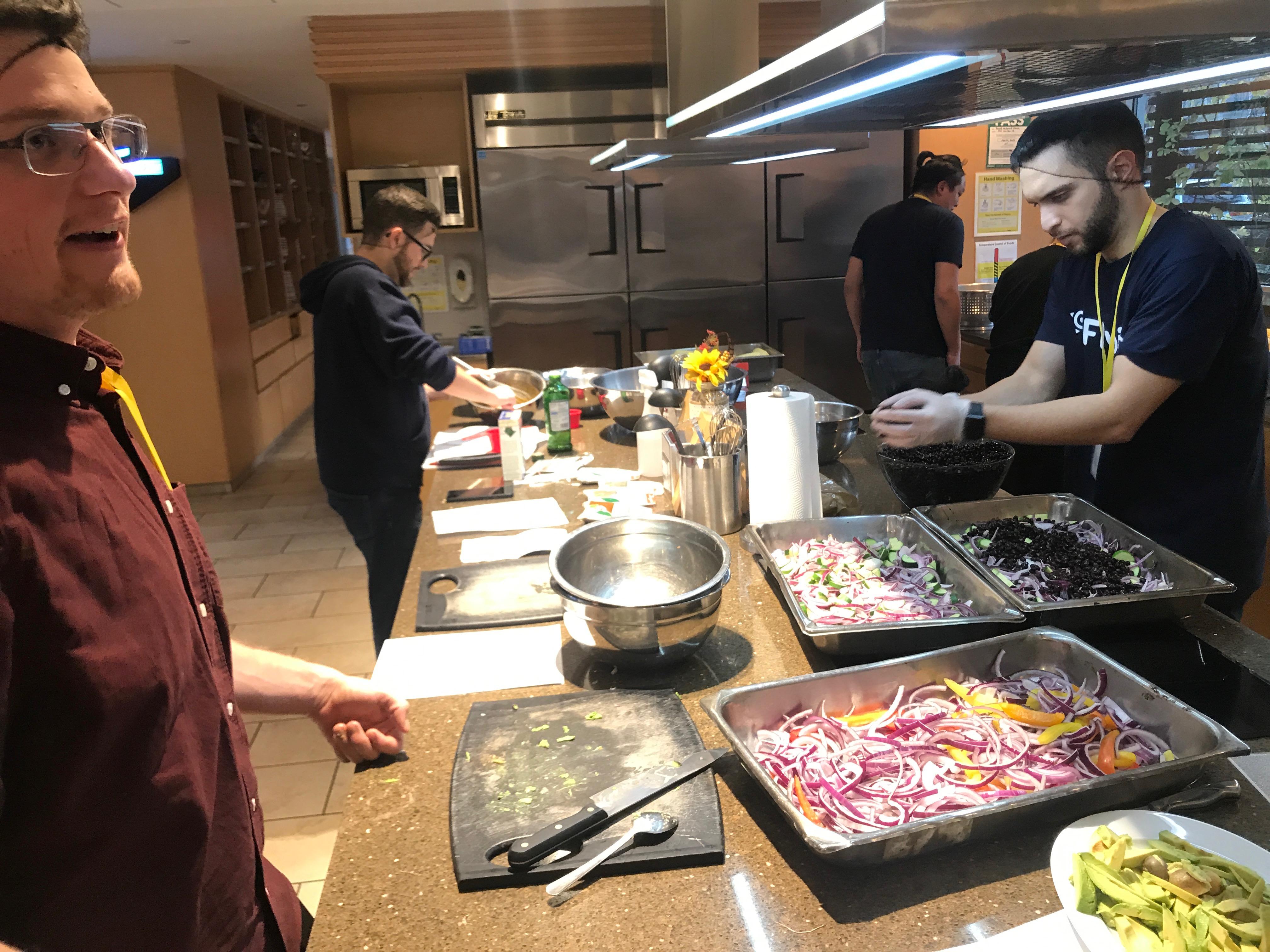 Flybits in RMHC kitchen 2