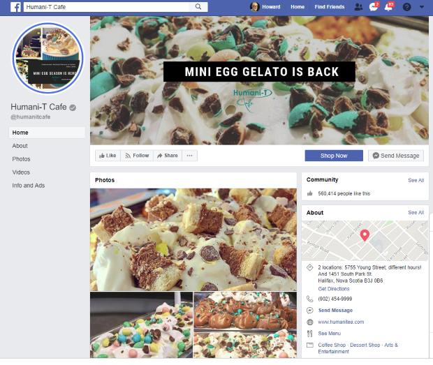 How a Halifax cafe endured a Facebook page hijacking