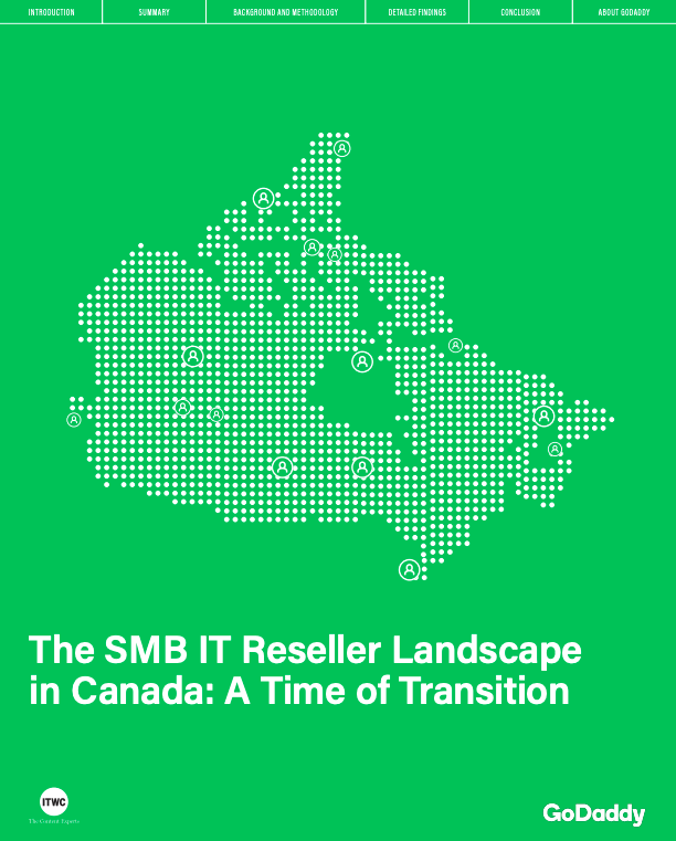 The SMB IT Reseller Landscape in Canada: A Time of Transition