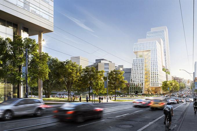 University of Toronto Schwart Reisman Innovation Centre College street