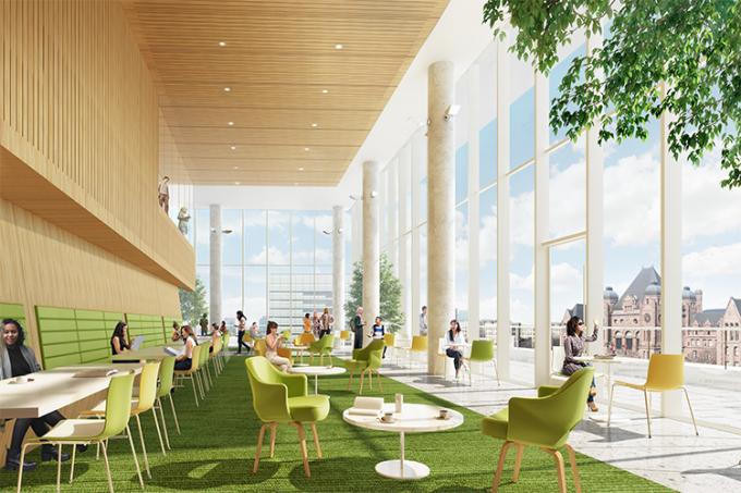University of Toronto Schwart Reisman Innovation Centre lobby 2