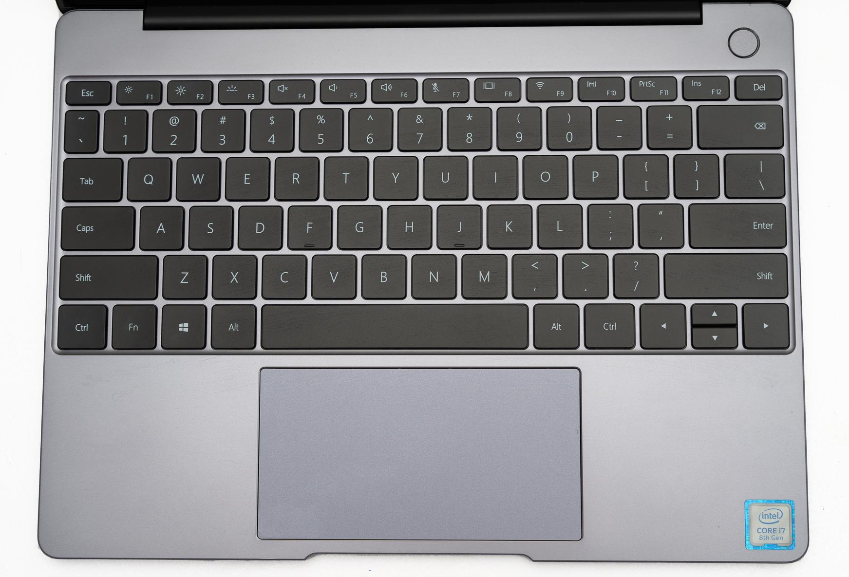 Huawei Matebook 13 keybaord