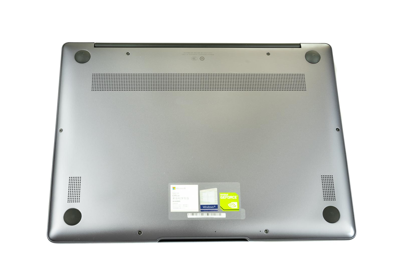 Huawei Matebook 13 rear