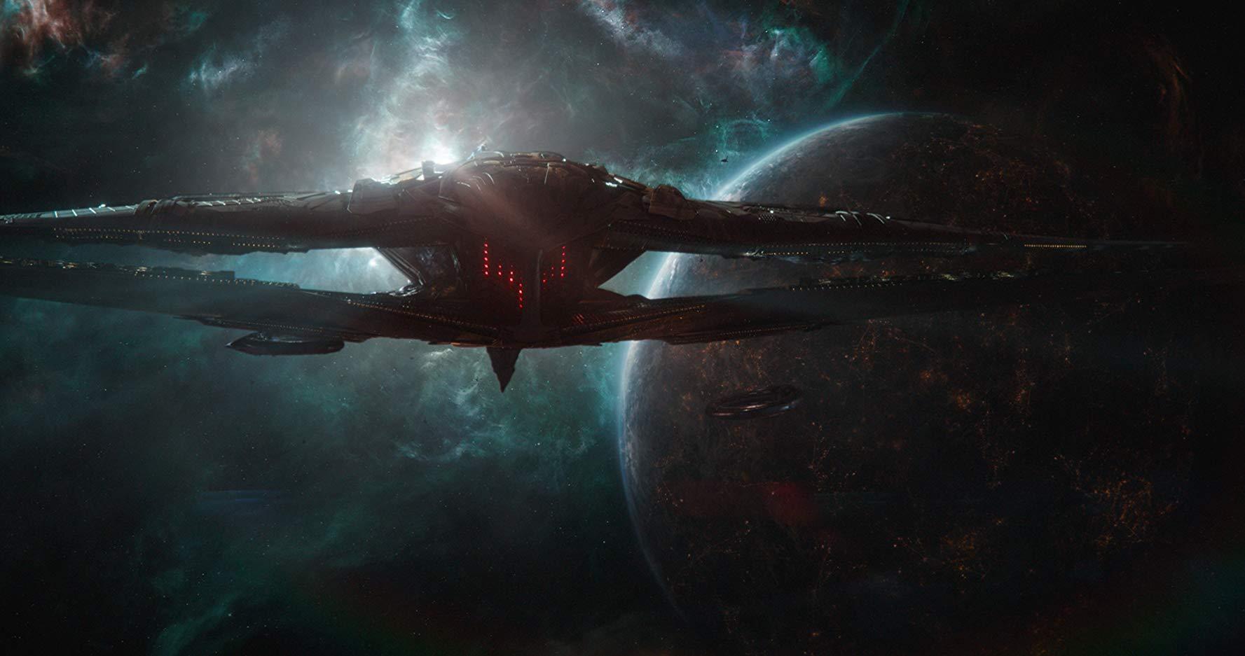 Avengers Endgame - Thanos ship