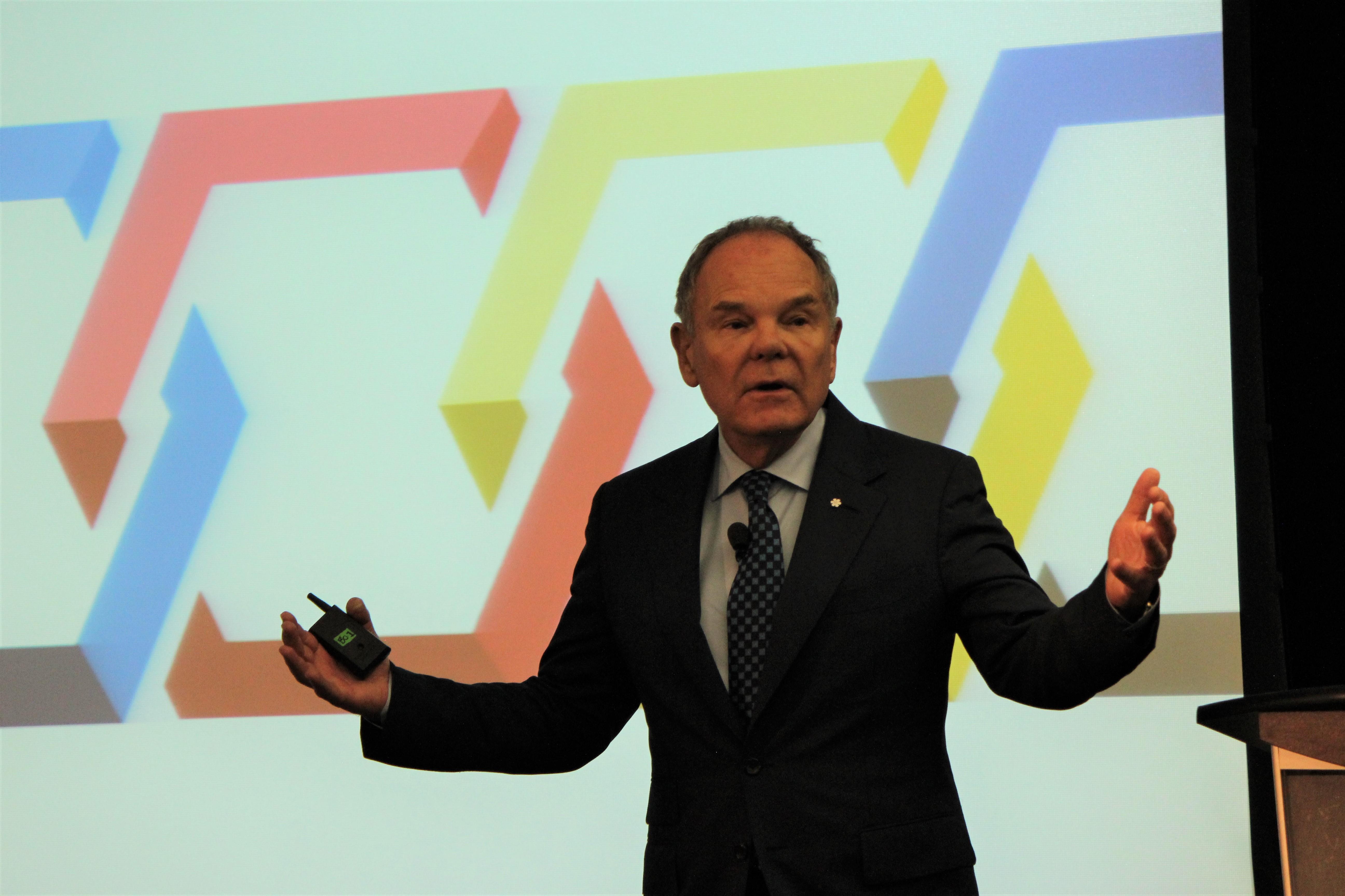 Don Tapscott-CIO Peer Forum 2019